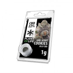 Jelly CBD GIRL SCOUT COOKIES 22% 1G