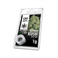 Jelly CBD MANGO KUSH 22% 1G Plant of Life