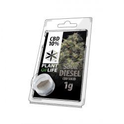 CBD Resin SOUR DIESEL 10% 1G Pflanze des Lebens