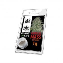 Harz CBD-KRITISCHE MASSE 10% 1G-Pflanze des Lebens