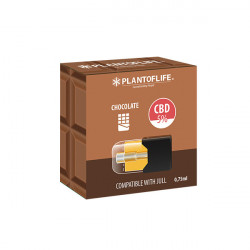 5% CBD-Schokoladenkapselkartusche - 0,75 ml