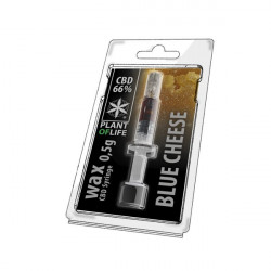 Wax CBD Blue Cheese 66% 0,5ML