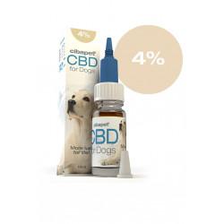 Olej CBD dla psów 4%.