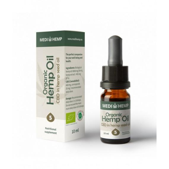 Bio CBD-Öl 5% - 30ml